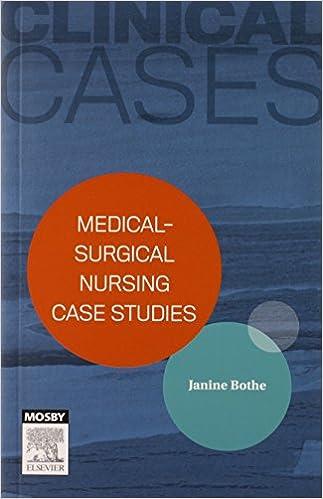 Medical case studies for nursing students