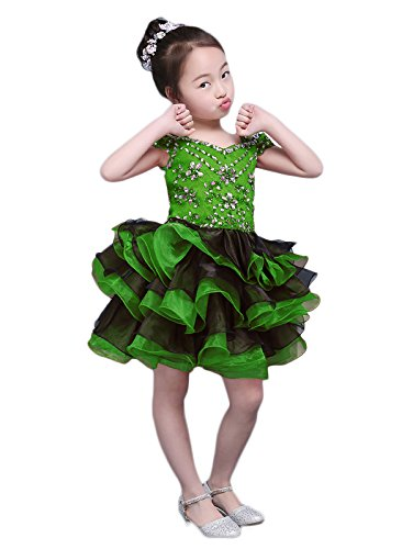 vert 9 ans ChuanYiMG - Robe - Cocktail - Fille