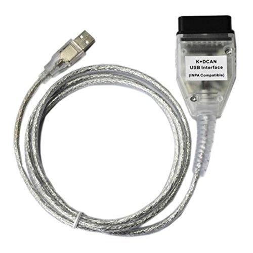 DCAN OBD2 Diagnostic USB Cable FT232RQ Tools INPA Ediabas NCS Diagnostic Cable Car K Car Usb Cable,Diagnostic USB Cable