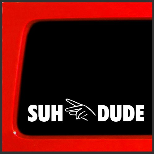 Suh Dude vinyl sticker Decal JDM turbo racing vinyl boost (Funny Race Car)