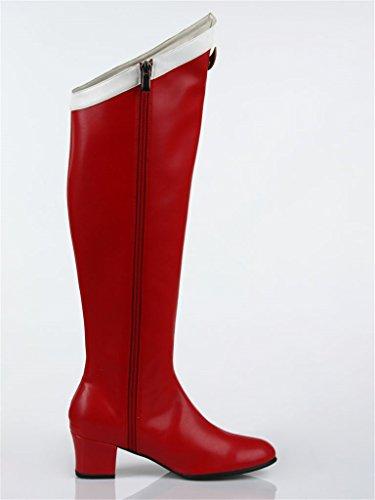 Red Mtxc Shoes Moon Cosplay 1st Women's Usagi Sailor Red Tsukino YUHq68Ur