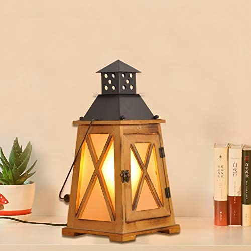 Vintage Wood Lanterns Table Lamps Chandelier 2