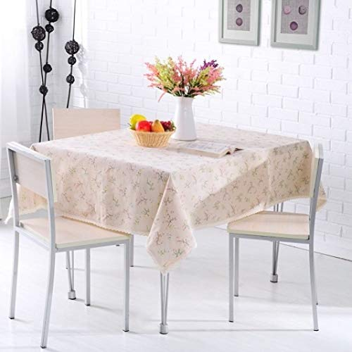 RXIN Printing Tablecloth Cotton and Linen Lace Table Cloth Dining Table Cover Home Decoration(5167 inch)