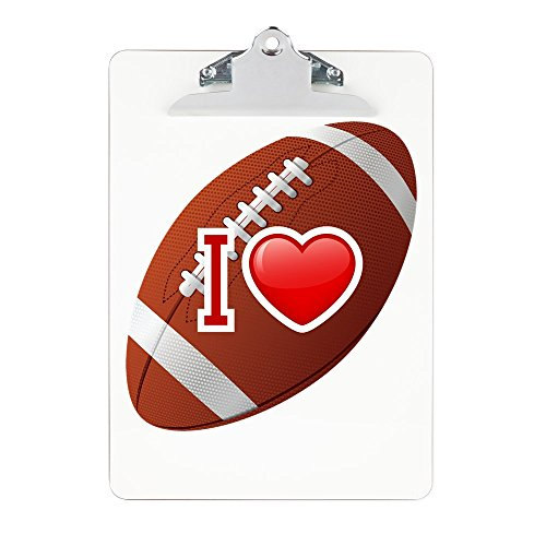 Clipboard I Love Football