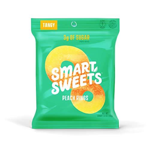 🥇 SmartSweets Peach Rings 1.8 Oz Bags