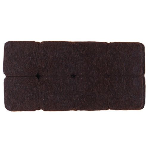 1 Inch Felt (Shepherd Hardware 9864 1-Inch Heavy Duty Self-Adhesive Square Felt Furniture Pads, 16-Pack, Brown)