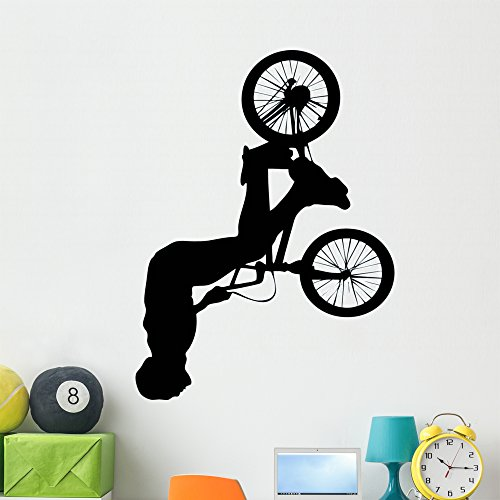 Cheap  Wallmonkeys WM57878 BMX Wall Decal Peel and Stick Graphic (48 in H..