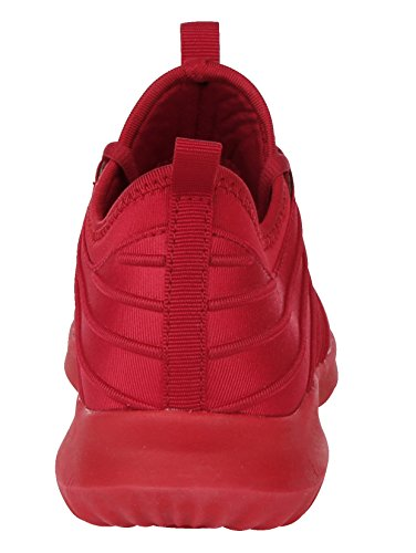 Rot by Satin Sneaker Optik in Damen Priority 7BqYaa