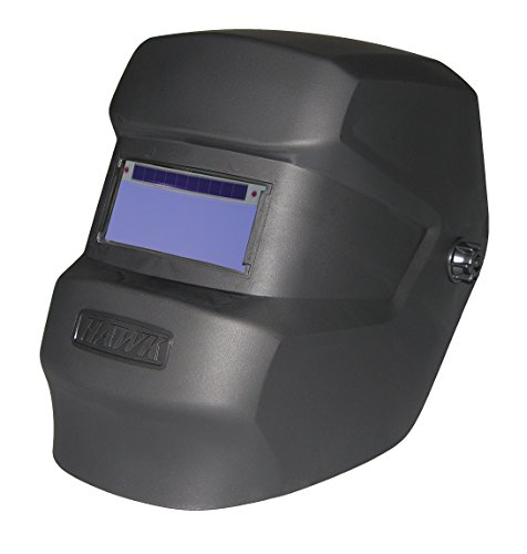 ArcOne T240-10-0300 Black Hawk Welding Helmet with T240-10 Auto-Darkening Filter