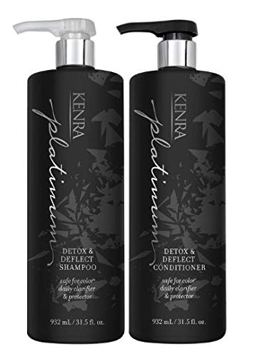Kenra Detox & Deflect Shampoo, Conditioner Liter Duo 31.5 oz