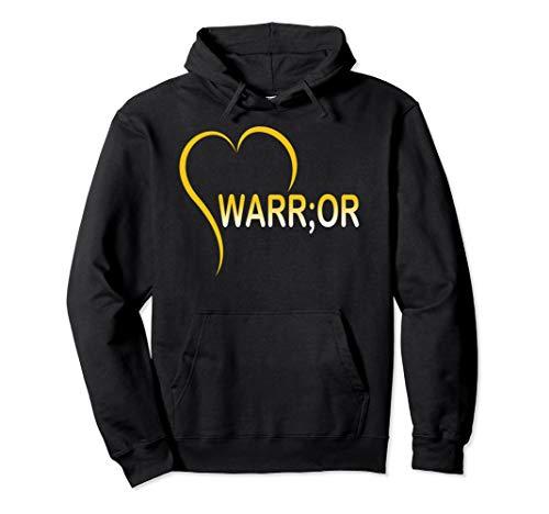 Semicolon Warrior Mental Health Awareness Pullover ()