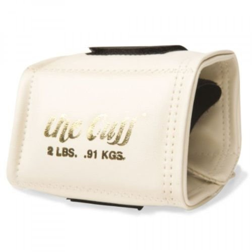 the Cuff The Original Cuff Ankle and Wrist Weight, 2 lb, White by Cando