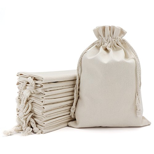 12pcs Bag with Drawstring, 12.5