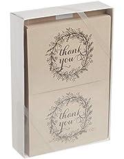 Hortense B. Hewitt 24 Count Baby Feet Thank You Note Cards