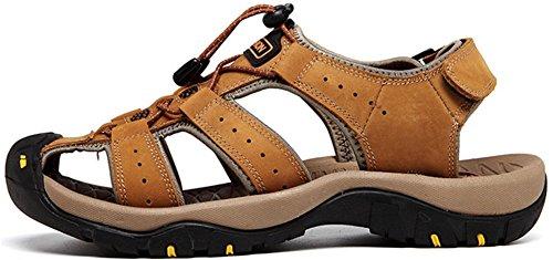 Mens Athletic Sandal Outdoor Sport Sandal Yellow b4HlPT