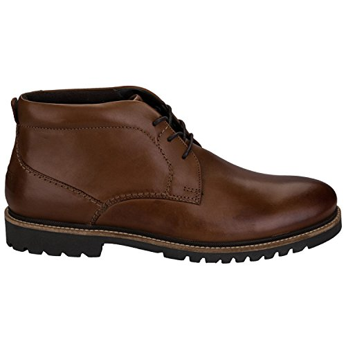Rockport Marshall, Botas Chukka para Hombre Marrón (Cognac Leather)