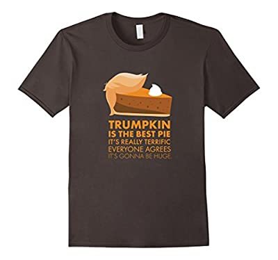 Funny Trump Pumpkin Pie Thanksgiving Fall Shirt