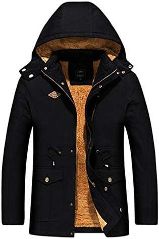 メンズ モッズコート 中綿 ダウンコート 秋冬アウター カジュアル 厚手 裏起毛 トレンチコート ファー付き 冬服