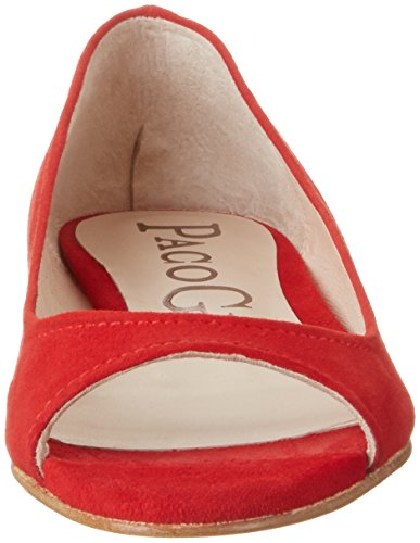 Paco Gil P3214, Ballerine Donna Rosso (Passion)