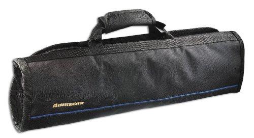 Messermeister 8-Pocket Knife Roll, Black ()