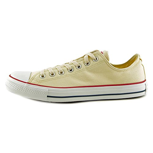 Converse Unisex Chuck Taylor All Star Sneakers Basse Bianche Naturali - 9,5 D (m) Us