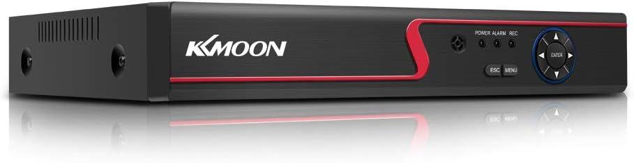 OWSOO 8CH 1080P Grabadora de Vídeo Ddigital DVR, Amplia Compatibilidad, Alta Definición, Hybrid AHD/ONVIF IP/Analog/TVI/CVI/DVR CCTV, Soporta P2P, Alarma de Detección de Movimiento, Android/iOS