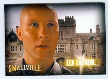 Michael Rosenbaum is Lex Luthor Smallville trading card 2007 Inkworks - Michael Lex