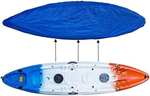Universal 4.6-5m Long Kayak Canoe Boat Waterproof Storage Cover Shield
