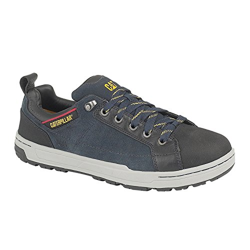Caterpillar Mens Brode Lo Safety Work Shoes Navy Navy