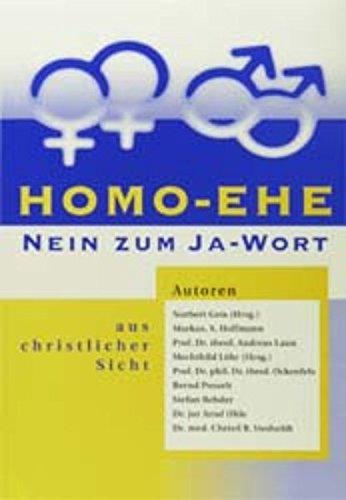 Homo-Ehe: Nein zum Ja-Wort aus christlicher Sicht