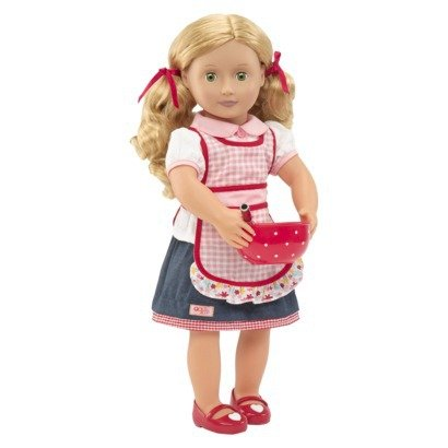 Our Generation Jenny-Deluxe Doll with Book Toy, 18