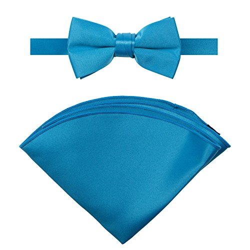 Spring Notion Boys' Satin Bow Tie and Handkerchief Set - http://coolthings.us