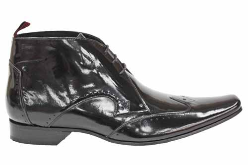 Jeffery West Black Line G0146A - Bottines Chukka en cuir - hommes