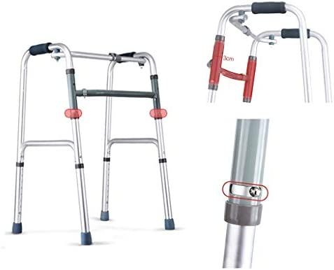 Medical Light - Caminadora Compacta de Viaje Plegable con Ruedas ...