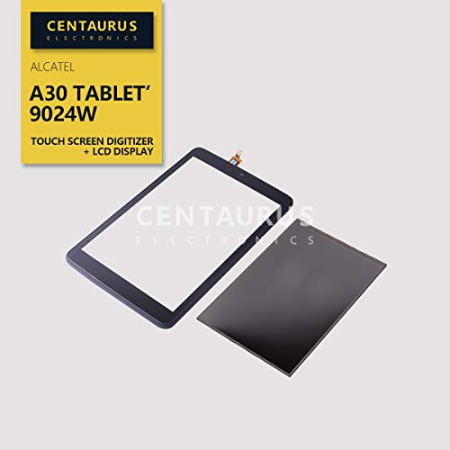 (CENTAURUS Replacement for Alcatel A30 Tablet 9024W 2017 T-Mobile 8.0 inch LCD Display Touch Screen Digitizer Panel +)