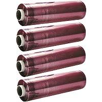 Rollos film alimentación transparente 30x300 - Pack 4