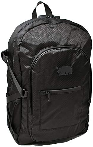 Cali Crusher 100 Smell Proof Backpack w Combo Lock Black