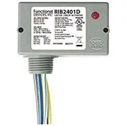 Functional Devices RIB2401D Pilot Relay,...
