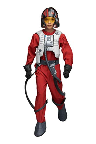 Ultimate Poe Dameron Costume for Kids - Star Wars Red ()