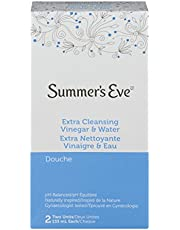 Summer's Eve Extra Cleansing Vinegar & Water Douche, 2 count - 133ml