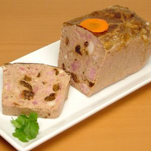 Rabbit w/ Prunes & Cognac Pate - 3.5 lb (Pack of 2) by Fabrique Delices