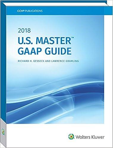 2018 U.S.Master Gaap Guide