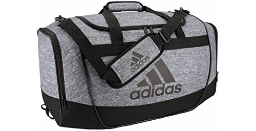 Price comparison product image adidas Defender II Medium Duffel Bag, Medium, Jersey Onix/Black/Light Onix