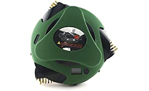 Grillbot Automatic Grill Cleaning Robot Silicone Cover - Provides Extra Protection - Weather & Heat Resistant up to 250°F - Noise Reduction - Dishwasher Safe - BBQ Accessories - Green