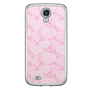 Loud Universe Samsung Galaxy S4 Love Valentine Printing Files A Valentine 168 Printed Transparent Edge Case - Pink