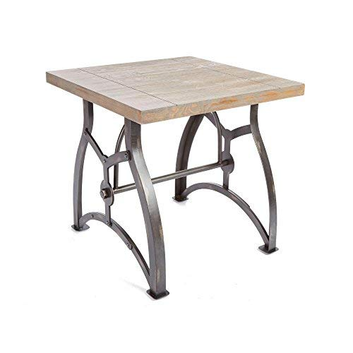 Silverwood CPFT1152-COM Beckett Industrial Collection End Table, 24