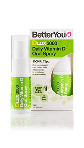 BetterYou D Lux 3000 Oral Vit D3 Spray 15ml x 1 by Better You