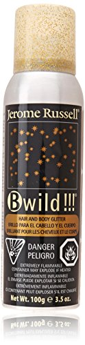 jerome russell Build Temporary Hair Color Spray, Gold, 3.5 (Gold Hair Color Spray)