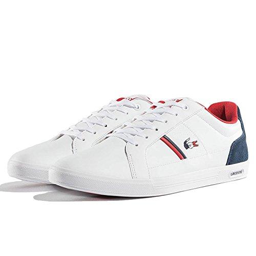 Lacoste Europa 317 Spm Lt Sneaker Bianco Navy