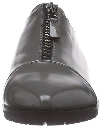 Kennel und Schmenger Schuhmanufaktur Flash - botas de piel mujer gris - Grau (grey/gunmetal)